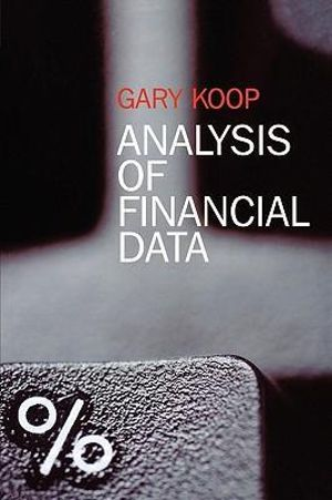 Cover of Analysis of Financial Data