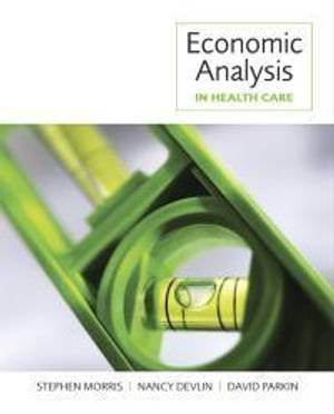 Cover of Economic Analysis in Health Care