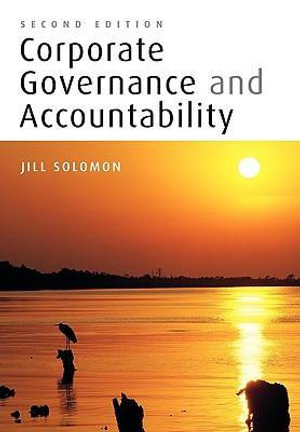 Cover of Corporate Governance and Accountability