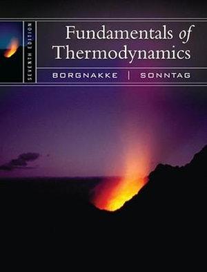 Cover of Fundamentals of Thermodynamics 7E
