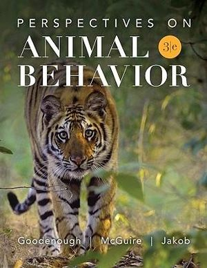 Cover of Perspectives on Animal Behavior