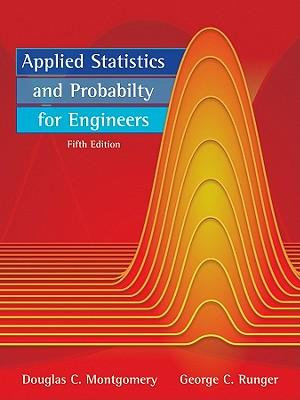 Cover of Applied Statistics and Probability for Engineers