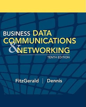 Cover of Business Data Communications and Networking 10E