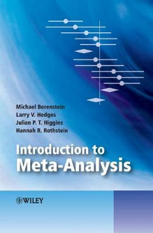 Cover of Introduction to Meta-Analysis
