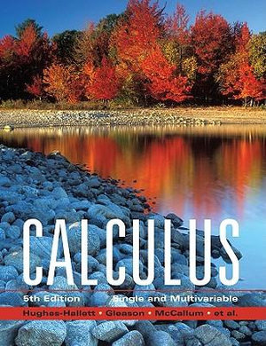Cover of Calculus Single and Multivariable 5E