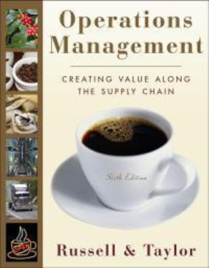 Cover of Operations Management 6E