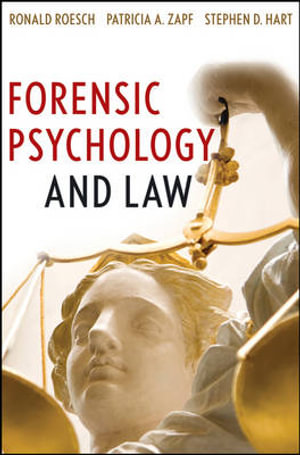 Cover of Forensic Psychology and Law