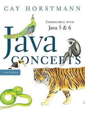 Cover of Java Concepts for Java 5 and 6