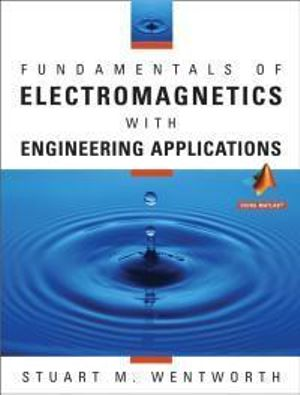 Cover of Fundamentals of Electromagnetics with Engineering Applications