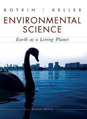 Cover of Environmental Science: Earth as a Living Planet