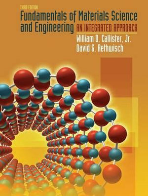 Cover of Fundamentals of materials science and engineering