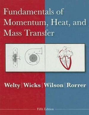Cover of Fundamentals of Momentum, Heat and Mass Transfer