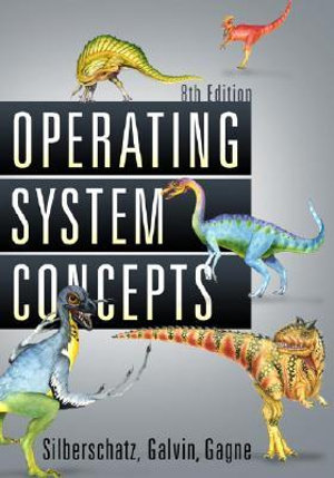 Cover of Operating Systems Concepts 8E