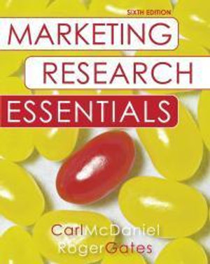 Cover of Marketing Research Essentials, with SPSS