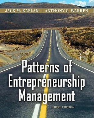 Cover of Patterns of Entrepreneurship Management