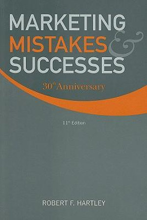 Cover of Marketing Mistakes and Successes 11E