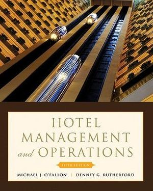 Cover of Hotel Management and Operations