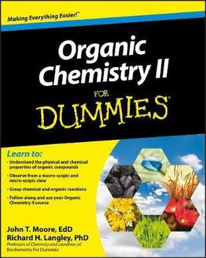 Cover of Organic Chemistry II For Dummies