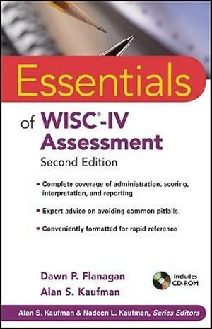 Cover of Essentials of WISC-IV Assessment