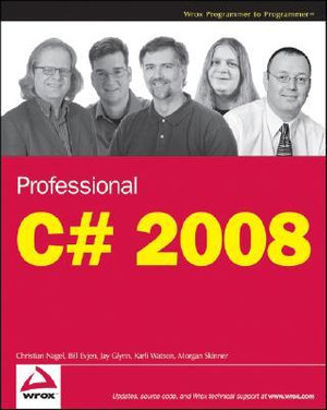 Cover of Professional C# 2008