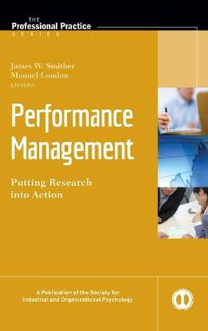 Cover of Performance Management