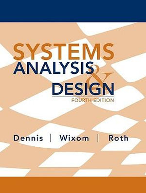 Cover of Systems Analysis and Design 4E