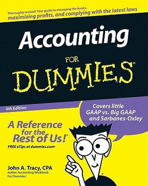 Cover of Accounting For Dummies