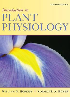 Cover of Introduction to plant physiology