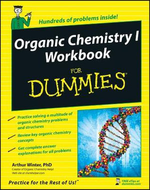 Cover of Organic Chemistry I Workbook For Dummies