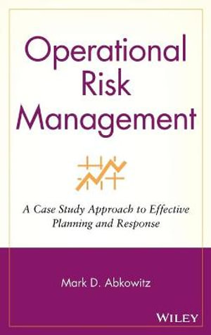 Cover of Operational Risk Management