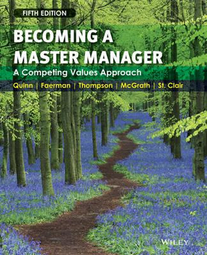Cover of Becoming a Master Manager a Competing Values Approach 5E