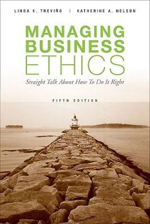 Cover of Managing Business Ethics 5E