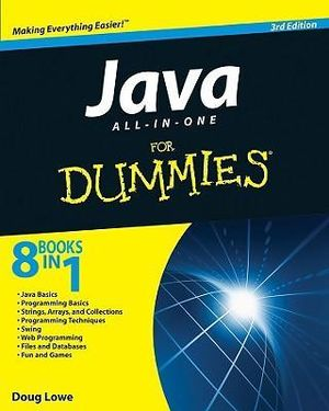 Cover of Java All-in-One For Dummies