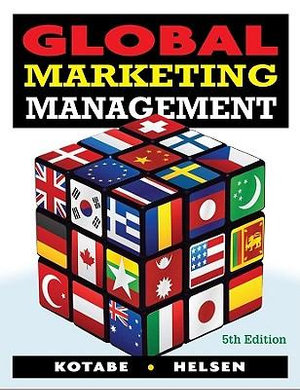 Cover of Global Marketing Management 5E
