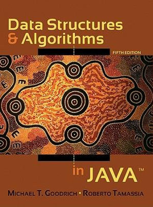 Cover of Data Structures and Algorithms in Java 5E