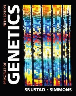 Cover of Principles of Genetics 5E