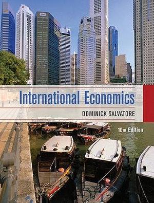 Cover of International Economics 10E