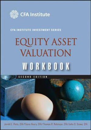 Cover of Equity Asset Valuation Workbook