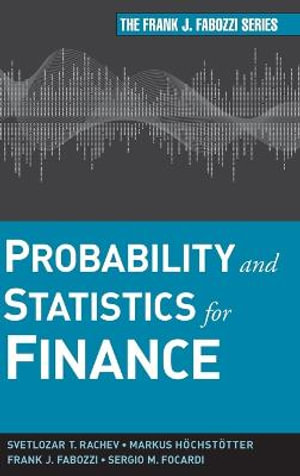 Cover of Probability and Statistics for Finance