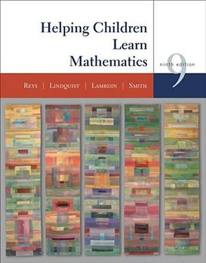 Cover of Helping Children Learn Mathematics 9E