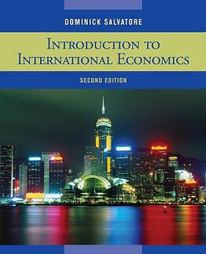 Cover of Introduction to International Economics 2E
