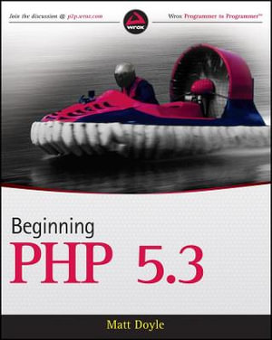 Cover of Beginning PHP 5.3