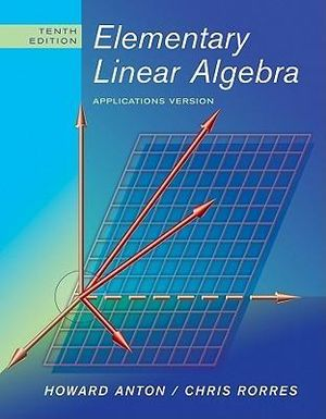 Cover of Elementary Linear Algebra