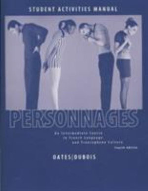 Cover of Personnages 4e Activities Manual & Lab CDs