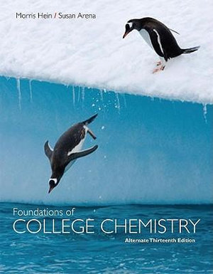 Cover of Foundations of College Chemistry, Alternate