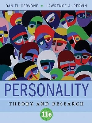 Cover of Personality Theory and Research 11E