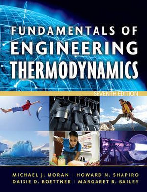 Cover of Fundamentals of Engineering Thermodynamics 7E