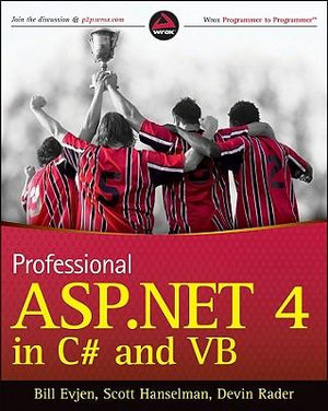 Cover of Professional ASP.NET 4