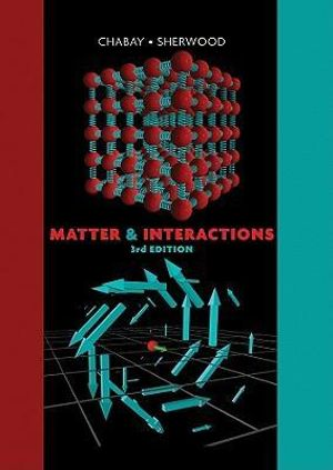 Cover of Matter and Interactions 3E
