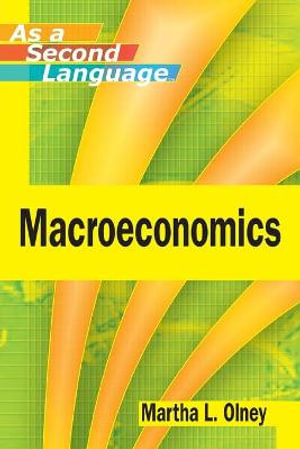 Cover of Macroeconomics as a Second Language